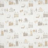 Happy Dreams Fabric Small Village HPDM 83251316 HPDM8325 13 16 By Casadeco